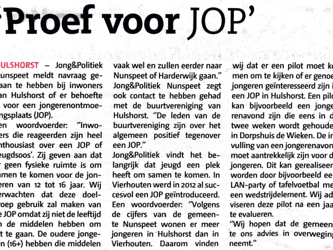 Jong&Politiek JOP